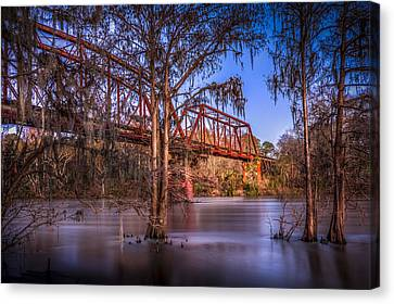 Bridge Over Trouble Water Canvas Print by Marvin Spates