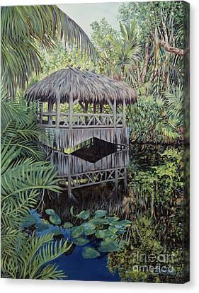 Bridge To Paradise Canvas Print by Danielle  Perry