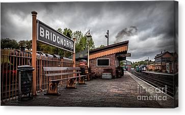 Bridgnorth Railway Station Canvas Print by Adrian Evans