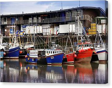 Bridlington Marina Canvas Print by Svetlana Sewell