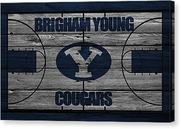 Brigham Young Cougars Canvas Print by Joe Hamilton