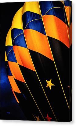 Bright Balloon  Canvas Print by Karol Livote
