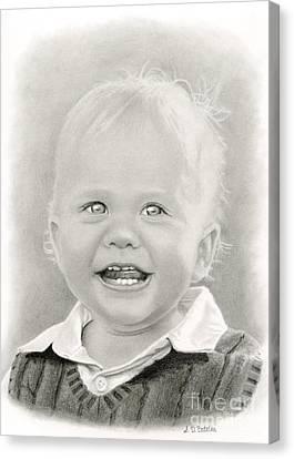 Bright Eyes Canvas Print by Sarah Batalka