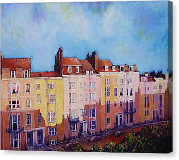Brighton Beach Canvas Print by Herschel Pollard