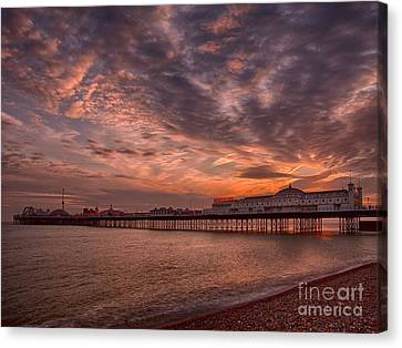 Brighton Pier Canvas Print by Pete Reynolds