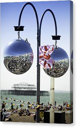Brighton With Pride Canvas Print by Max CALLENDER