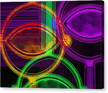 Brights Canvas Print by Wendy J St Christopher