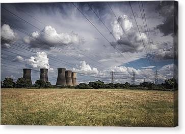 Bringing Power To The Masses Canvas Print by Chris Fletcher