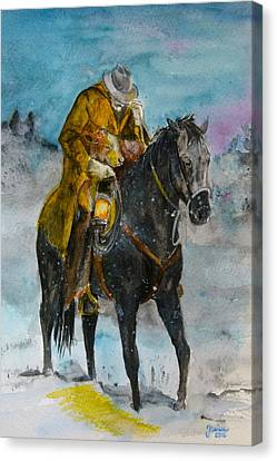 Bringing You Home Canvas Print by Janina  Suuronen