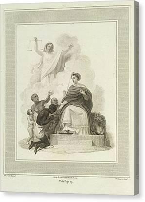 Britannia Canvas Print by British Library
