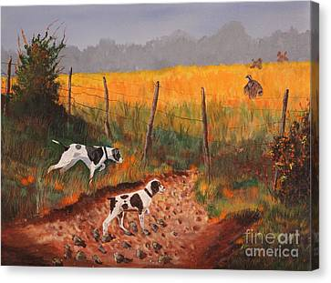 Britany And Spears Canvas Print by Bob Williams