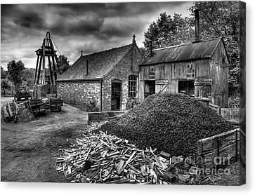 British Mine Canvas Print by Adrian Evans