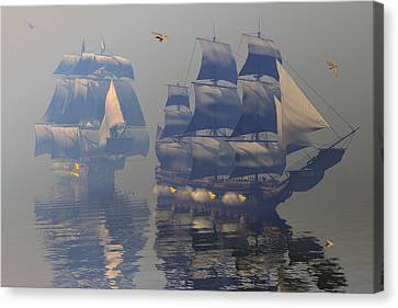 Broadsides Canvas Print by Claude McCoy