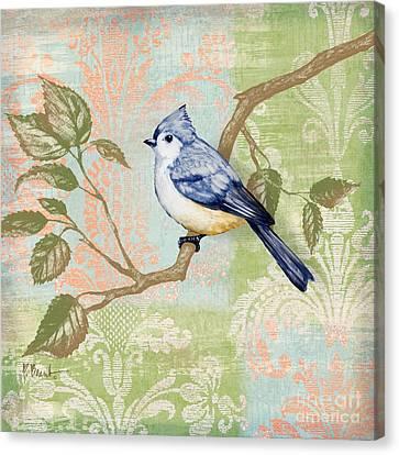 Brocade Songbird II Canvas Print by Paul Brent