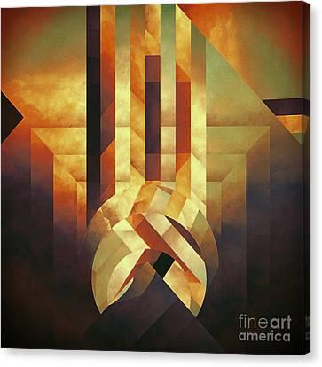 Broken Echo Canvas Print by Lonnie Christopher