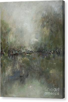 Broken Fences Canvas Print by Frances Marino