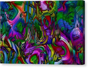 Broken Rainbow Canvas Print by Jack Zulli