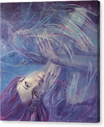 Broken Wings Canvas Print by Dorina  Costras