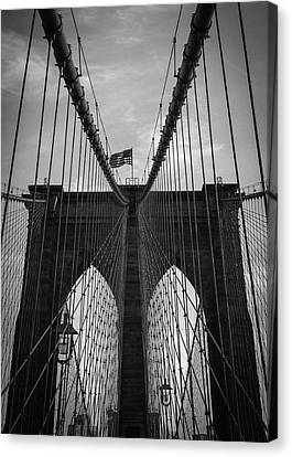 Brooklyn Bridge Canvas Print by Nicklas Gustafsson