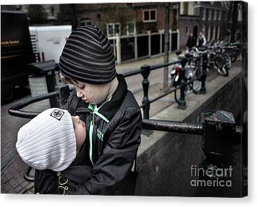 Brothers Canvas Print by Michel Verhoef