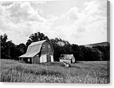 Brown County Barn II Canvas Print by Off The Beaten Path Photography - Andrew Alexander