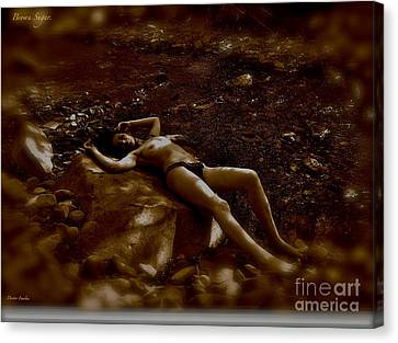Brown Sugar - A Symphonic Tribute To Dreams And Rolling Stones. Canvas Print by  Andrzej Goszcz