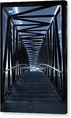 Brown's Island Bridge Canvas Print by Brian Archer