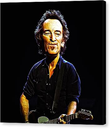 Bruce Canvas Print by Bill Cannon