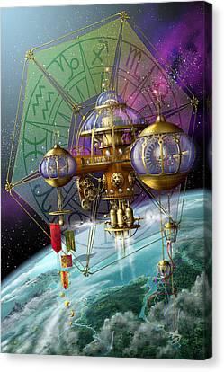 Bubble Telescope Canvas Print by Ciro Marchetti