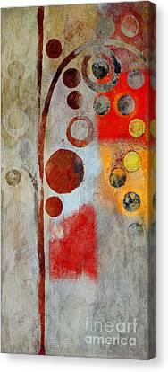 Bubble Tree - Ls55 Canvas Print by Variance Collections