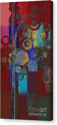 Bubble Tree - Rd01r Canvas Print by Variance Collections