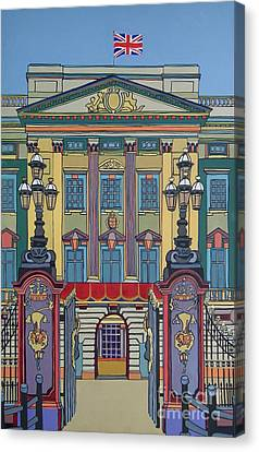 Buckingham Palace Canvas Print by Nicky Leigh