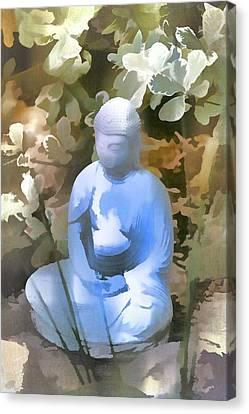 Buddha 3 Canvas Print by Pamela Cooper