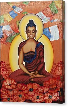 Buddha Canvas Print by Yuliya Glavnaya
