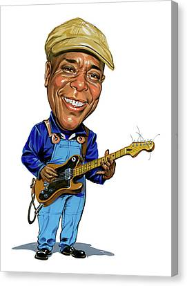 Buddy Guy Canvas Print by Art