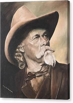Buffalo Bill Cody Canvas Print by Mary Ellen Anderson