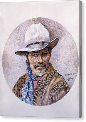 Buffalo Bill Canvas Print by Gregory Perillo