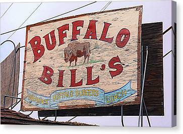 Buffalo Bills Canvas Print by Ron Regalado