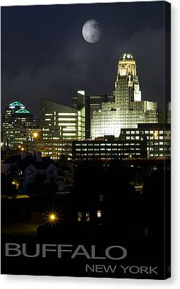 Buffalo New York Canvas Print by Peter Chilelli