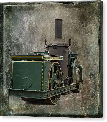 Buffalo Springfield Steam Roller Canvas Print by Paul Freidlund