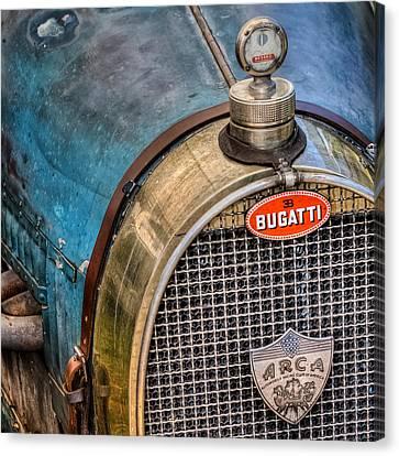 Bugatti Canvas Print by Bill Wakeley
