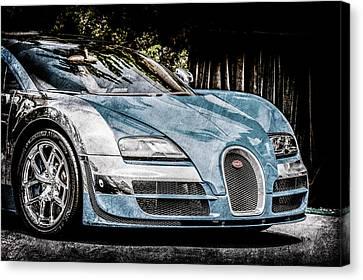 Bugatti Legend - Veyron Special Edition -0844ac Canvas Print by Jill Reger