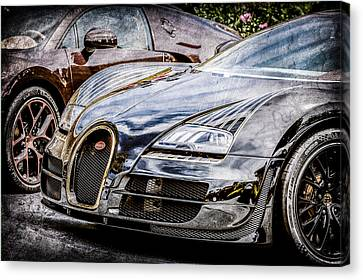 Bugatti Legend - Veyron Special Edition -0845ac Canvas Print by Jill Reger
