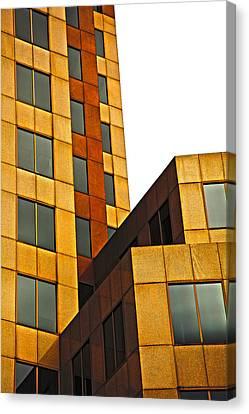 Building Blocks Canvas Print by Karol Livote
