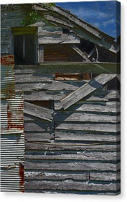 Building Materials Canvas Print by Murray Bloom