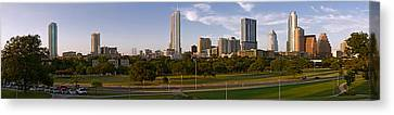 Buildings In A City, Austin, Travis Canvas Print by Panoramic Images
