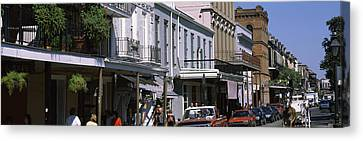 Buildings In A City, French Quarter Canvas Print by Panoramic Images