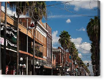 Buildings In A City, La Septima, East Canvas Print by Panoramic Images