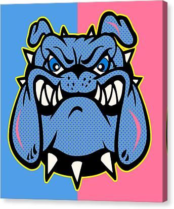 Bulldog 5 Canvas Print by Mark Ashkenazi