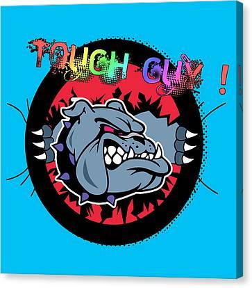 Bulldog 6 Canvas Print by Mark Ashkenazi